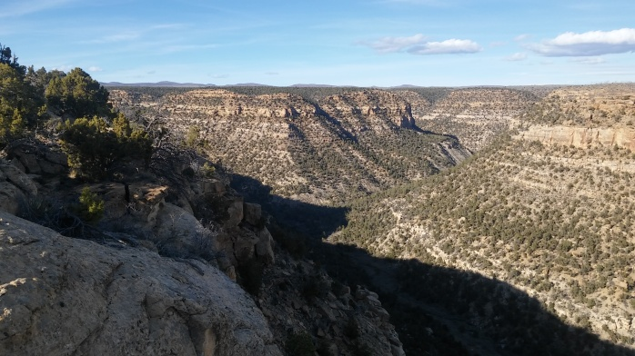 Canyons at Mesa Verde National Park, Colorado