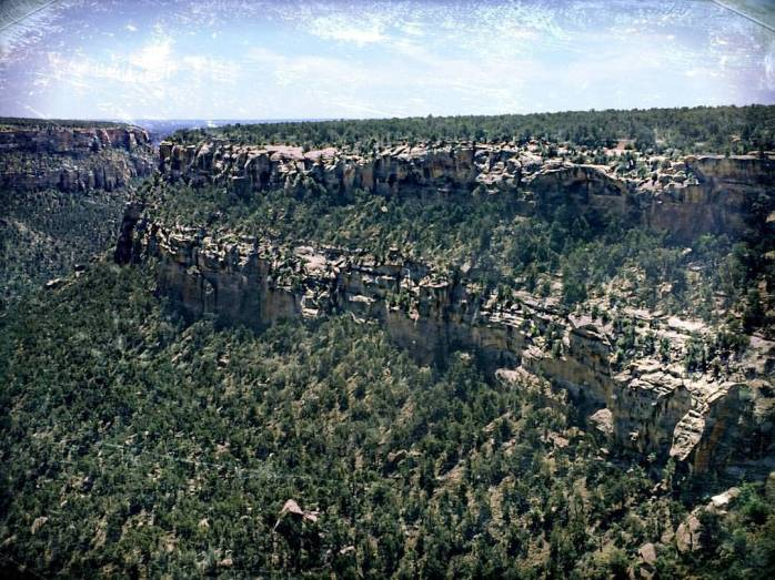Soda Canyons in Mesa Verde National Park, Colorado