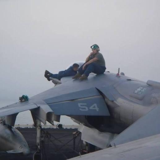 CDI Chauvin Amaya Harrier Jet Persian Gulf